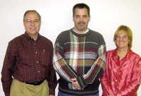 IMS Project Managers (L to R): David Roney, Dave Annett, and Janis Beach