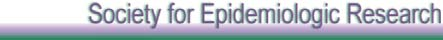 Society for Epidemiologic Research
